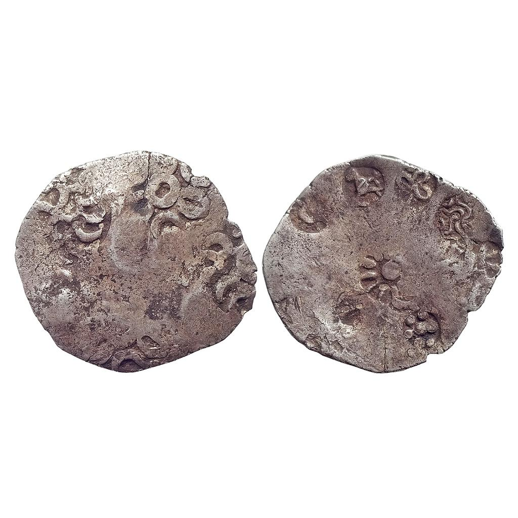 Ancient, Archaic Series, Punch Marked Coinage, Ghazipur Hoard type, Silver Vimshatika
