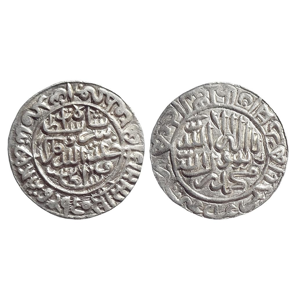 Delhi Sultan, Sher Shah, Mintless, Agra-Gwalior type, Silver Rupee