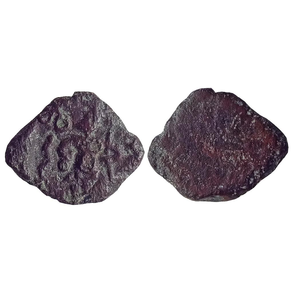Ancient, Post-Mauryan, Ujjaini Region, Ancient Malwa, Brahma type, Copper Unit