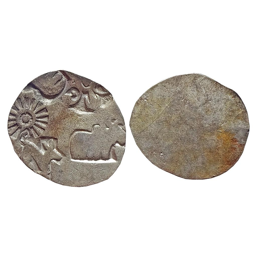 Ancient, Mauryan Punch Marked Coinage, Magadha Imperial, Silver Karshapana