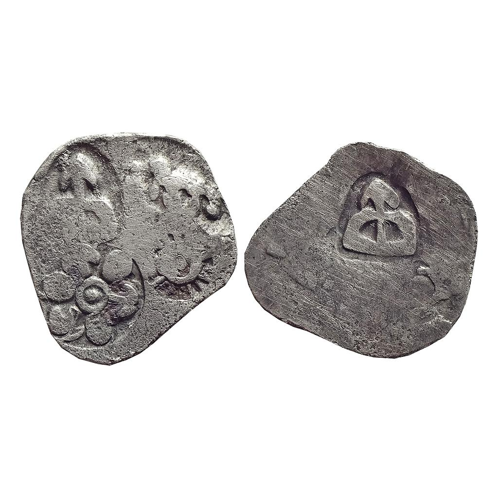 Ancient, Archaic Series, Punch Marked Coinage, attributed to Magadha Janapada, Series 0 to I, Silver Karshapana